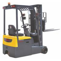 China Warehouse 3 Wheel Electric Forklift , Industrial Lift Truck 1500KG Load Capacity wholesale