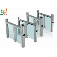 China Stainless Steel Supermarket Swing Gate RFID Access Control Speed Gates wholesale