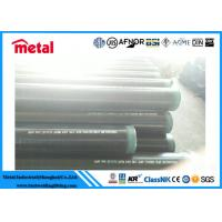 """China 12"""" SCH 40 Seamless Coated Steel Pipe API 5L X52 PSL1 External DIN 30678 wholesale"""