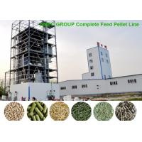 China AMEC Complete High Efficiency 3-5t/h Animal Feed Pelle Line Turnkey  Project wholesale