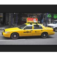 China High Resolution Taxi Top Advertising Signs Waterproof P4 Led Screen 2 Years Warranty wholesale