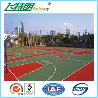 China Synthetic Badminton Court Flooring Playground Rubber Mats Anti Skid Coating on sale