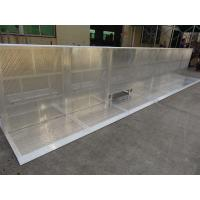 China Widely Use 30kg Weight Foldable Crowd Control Barrier For Crowded Activities wholesale