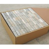 Buy cheap 30.5*30.5cm*1cm mosaic slate stone floor tiles from wholesalers
