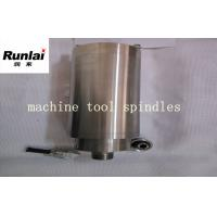 China Grease Lubricating Turned Parts of Drilling Machine , Automatic Tools Changing CNC Mill Spindle wholesale