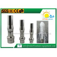 China Aerated Frost Shape Stainless Steel Fountain Nozzles 10-15m3/H Flow Rate on sale