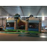 China Playground Equipment Inflatable Airplane Jumping House 8-18 Children Capacity wholesale