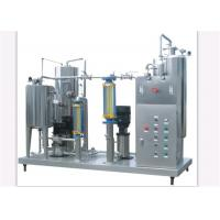 Quality Stainless Steel Automatic CO2 Carbonated Drink Mixer / Soft Drink Mixing Machine for sale