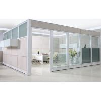 China 83mm C10 Double glass Partition Walls CD-8832 with Tiles-base System wholesale