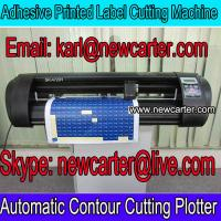 China Printed Label Cutting Plotter With AAS 720 Computer Vinyl Cutter Automatic Contour Cutter wholesale