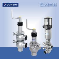 China DN 25-DN100 Clamped Stainless Steel 304 Regulating valve Standard Normally Closed wholesale