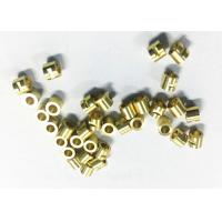 China Connector Tube CNC Machining Brass Parts , Small Cnc Machined Components wholesale