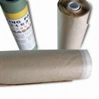 Quality Pre-tape Masking Paper for Car and House Painting, Convenient to Carry for sale