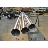 """China ASTM A270 TP316L S.S Welded Sanitary Pipe Polished 1 1/2""""x0.065""""x20ft for high purity wholesale"""