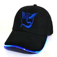 Buy cheap Rechargeable LED Light Up Hats With Battery Glow In The Dark Size Adjustable from wholesalers