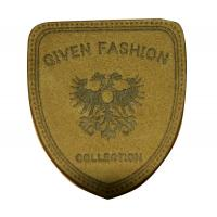 China Custom Embossed Leather Patches With Personalized Logo For Jeans wholesale