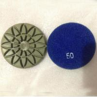 China Rosette Diamond Marble Floor Polishing Pads on sale