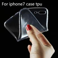 China Ultra Thin Clear Crystal Transparent TPU Soft Cell Phone Covers For IPhone 7 Case wholesale
