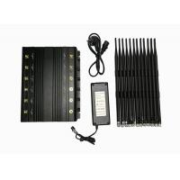 China 12 Bands High Power Adjustable Stationary Electronic Jamming Device, 2 watts Jammer for Security Use wholesale
