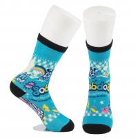 China Breathable Eco - Friendly 3D Printed Socks For Adults Custom Made Size wholesale