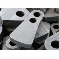 China Double Hole Manganese Hammer Crusher Spare Parts By Lost Foam Casting Process wholesale