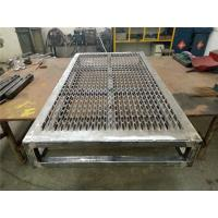 China Perforated Aluminium Anti Skid Metal Plate , Safety Non Slip Metal Grating wholesale