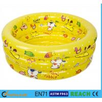 China Splendid Printed Inflatable Swimming Pool 0.2mm Thickness Material Swim Tube wholesale
