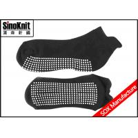 China Autumn Non Slip Sports Toeless Yoga Sock Knitted Anti-Bacterial on sale