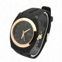 China Sports Watch with Unisex Rubber Strap and Plastc Ase, Alloy Bezel, Japan Movement wholesale