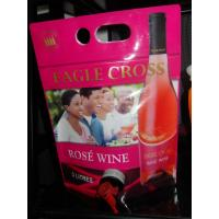 China Reusable Laminated Stand Up Pouch With Spout For Red Wine , Grape Wine wholesale