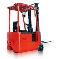 Buy cheap Professional Small Battery Operated Three Wheel Electric Forklift Indoor from wholesalers