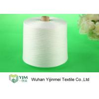 China Raw Virgin 100 Spun Polyester Sewing Thread For Knitting / Weaving wholesale