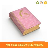Quality Silver First custom hard cover full color book printing paper packaging box for sale