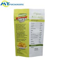China Customized Stand Up Resealable Pouch Independent Fruit Dry Food Packaging Bags wholesale