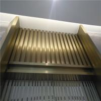 China Mirror Finish Bronze Stainless Steel Angle U Shape Trim 201 304 316 for wall ceiling furniture decoration wholesale