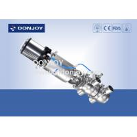 China CIP Sanitary Divert Seat Valve Medium Pressure Pneumatic Operated With IL-Top wholesale
