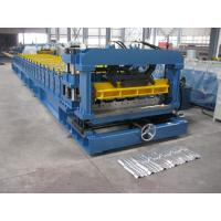 China Cr12 Mould Steel Cutter Roof Tile Roll Forming Machine 5.5KW ISO9001 with high production speed wholesale
