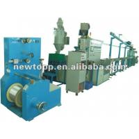 China XJ070 High quality automatic outside wire coating extrusion machine,cable making machine wholesale
