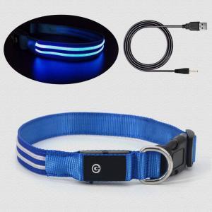 China USB Rechargeable Flashing Dog Collars wholesale