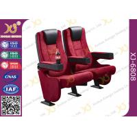 Novel Design High Strength Steel Structural Support Movie Theater Seats Manufactures