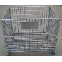 China Q235 Material IBC Metal Cage Warehouse Storage Cages 6.0mm Wire Diameter For Transport wholesale