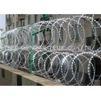 China Hot Dipped Galvanized Razor Blade Barbed Wire on sale