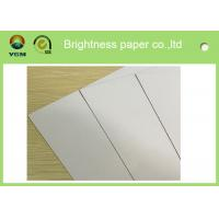 China 250gsm - 450gsm Duplex Blister Board Paper White Back 100% Virgin Pulp Material wholesale