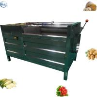 China Large Capacity Root Vegetable Washing Machine SS 304 Material Durable Structure wholesale