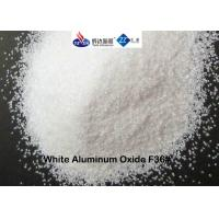 China White Fused Alumina Aluminium Oxide Blasting Media F36 # For Etching / Decorating wholesale