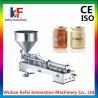 China KEFAI 50-500ml semi automatic single head paste filling machine wholesale