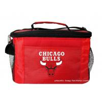 China Insulated Snack / Wine Cooler Bag Carry Bag 600D polyester + EPE coated with Aluminum Foil wholesale