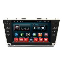 Toyota camry 2008-2011 Automobile DVD Players support gps navi mirror link Manufactures