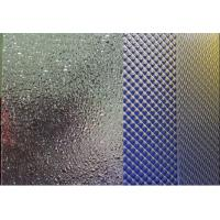 China Prismatic Embossed Patterned Extruded Acrylic Sheet , Lightweight And Fabricated on sale
