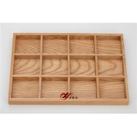 China Multifunctional Wooden Jewelry Display Trays 4*3 Original Style wholesale
